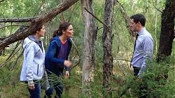 Susan Kennedy, Elly Conway, Finn Kelly in Neighbours Episode 7883