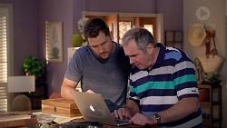 Mark Brennan, Karl Kennedy in Neighbours Episode 7884