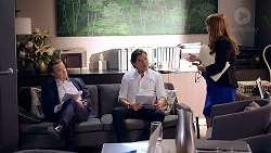 Paul Robinson, Leo Tanaka, Terese Willis in Neighbours Episode 7885