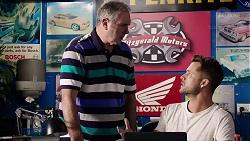 Karl Kennedy, Mark Brennan in Neighbours Episode 7885