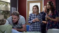 Xanthe Canning, Gary Canning, Piper Willis, Mishti Sharma, Dipi Rebecchi in Neighbours Episode 7885