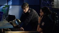 Snr. Sgt. Christina Lake, Mishti Sharma in Neighbours Episode 7886