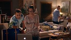 Aaron Brennan, Sonya Mitchell, Toadie Rebecchi in Neighbours Episode 7886