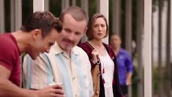 Aaron Brennan, Toadie Rebecchi, Sonya Mitchell in Neighbours Episode 7886