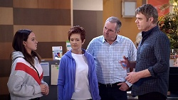 Bea Nilsson, Susan Kennedy, Karl Kennedy, Gary Canning in Neighbours Episode 7886