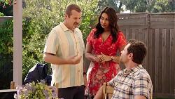Toadie Rebecchi, Dipi Rebecchi, Shane Rebecchi in Neighbours Episode 7888