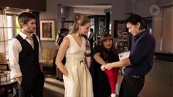 Ned Willis, Chloe Brennan, Terese Willis, Leo Tanaka in Neighbours Episode 7888