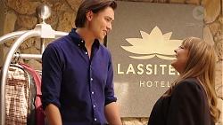Leo Tanaka, Terese Willis in Neighbours Episode 7888