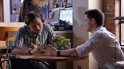 Leo Tanaka, David Tanaka in Neighbours Episode 7889