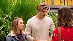 Piper Willis, Cassius Grady, Amy Williams in Neighbours Episode 7890