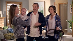 Willow Bliss, Hugo Somers, Toadie Rebecchi, Sonya Mitchell in Neighbours Episode 7891