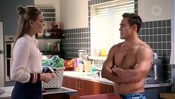 Chloe Brennan, Aaron Brennan in Neighbours Episode 7891
