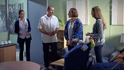 Sara Dennet, Toadie Rebecchi, Sonya Mitchell, Willow Bliss in Neighbours Episode 7891