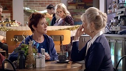Susan Kennedy, Sheila Canning, Liz Conway in Neighbours Episode 7891