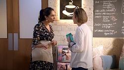 Dipi Rebecchi, Sonya Mitchell in Neighbours Episode 7892
