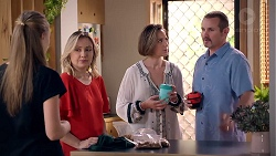 Willow Bliss, Sindi Watts, Sonya Mitchell, Toadie Rebecchi in Neighbours Episode 7892