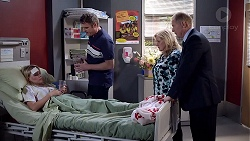 Xanthe Canning, Gary Canning, Sheila Canning, Clive Gibbons in Neighbours Episode 7893