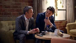 Paul Robinson, Leo Tanaka in Neighbours Episode 7893