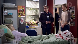 Xanthe Canning, Gary Canning, Cassius Grady in Neighbours Episode 7894