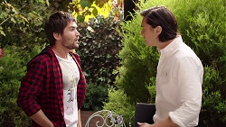 Ned Willis, Leo Tanaka in Neighbours Episode 7894