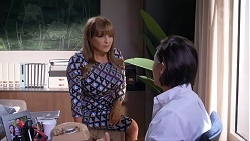 Terese Willis, Leo Tanaka in Neighbours Episode 7895