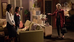 Elly Conway, Bea Nilsson, Liz Conway in Neighbours Episode 7895