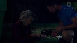 Liz Conway, Mark Brennan in Neighbours Episode 7895