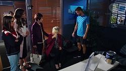 Bea Nilsson, Elly Conway, Susan Kennedy, Liz Conway, Mark Brennan in Neighbours Episode 7895