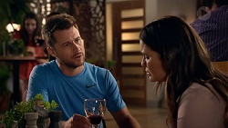 Mark Brennan, Elly Conway in Neighbours Episode 7896