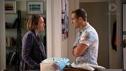 Sonya Mitchell, Aaron Brennan in Neighbours Episode 7897