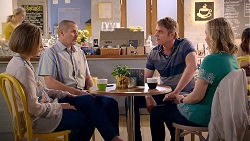 Sonya Mitchell, Toadie Rebecchi, Gary Canning, Sindi Watts in Neighbours Episode 7898