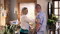 Sindi Watts, Toadie Rebecchi in Neighbours Episode 7899