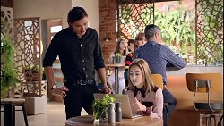 Leo Tanaka, Piper Willis in Neighbours Episode 7900