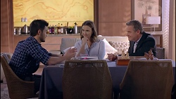 David Tanaka, Amy Williams, Paul Robinson in Neighbours Episode 7901