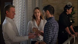 Paul Robinson, Amy Williams, David Tanaka, Leo Tanaka in Neighbours Episode 7901