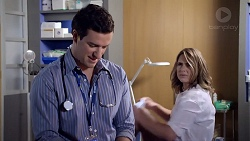 Dr Rob Carson, Amy Williams in Neighbours Episode 7902