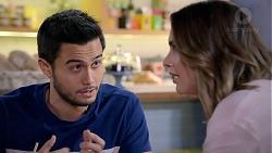 David Tanaka, Amy Williams in Neighbours Episode 7902