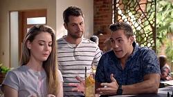 Chloe Brennan, Mark Brennan, Aaron Brennan in Neighbours Episode 7902