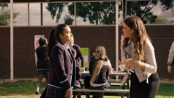 Kirsha Rebecchi, Elly Conway in Neighbours Episode 7903