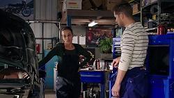Bea Nilsson, Mark Brennan in Neighbours Episode 7903