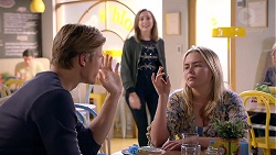 Cassius Grady, Piper Willis, Xanthe Canning in Neighbours Episode 7903