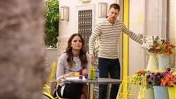 Elly Conway, Mark Brennan in Neighbours Episode 7903
