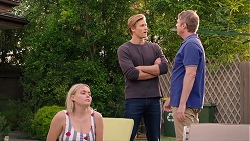 Xanthe Canning, Cassius Grady, Gary Canning in Neighbours Episode 7903