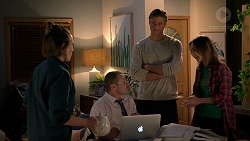 Sonya Mitchell, Toadie Rebecchi, Cassius Grady, Piper Willis in Neighbours Episode 7904