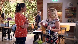 Dipi Rebecchi, Sheila Canning in Neighbours Episode 7905