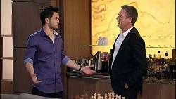 David Tanaka, Paul Robinson in Neighbours Episode 7906