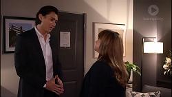 Leo Tanaka, Terese Willis in Neighbours Episode 7906