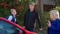 Xanthe Canning, Gary Canning, Sheila Canning in Neighbours Episode 7907