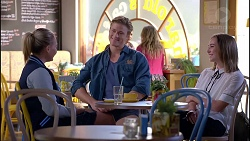 Xanthe Canning, Cassius Grady, Piper Willis in Neighbours Episode 7907