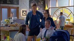 Piper Willis, Cassius Grady, Sonya Mitchell, Toadie Rebecchi in Neighbours Episode 7907